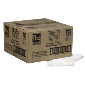 Chux 09751 Superwipes Regular 60X30cm White Carton 250