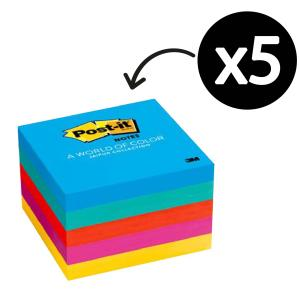 Post-It Notes Jaipur Collection 76 x 76mm Pack 5