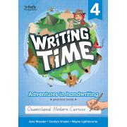 Writing Time 4 (Queensland Modern Cursive) Student Practice Book