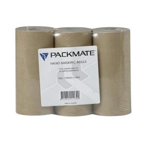 Winc Paper Masking Rolls 144mmx50mt 30 Roll/Carton