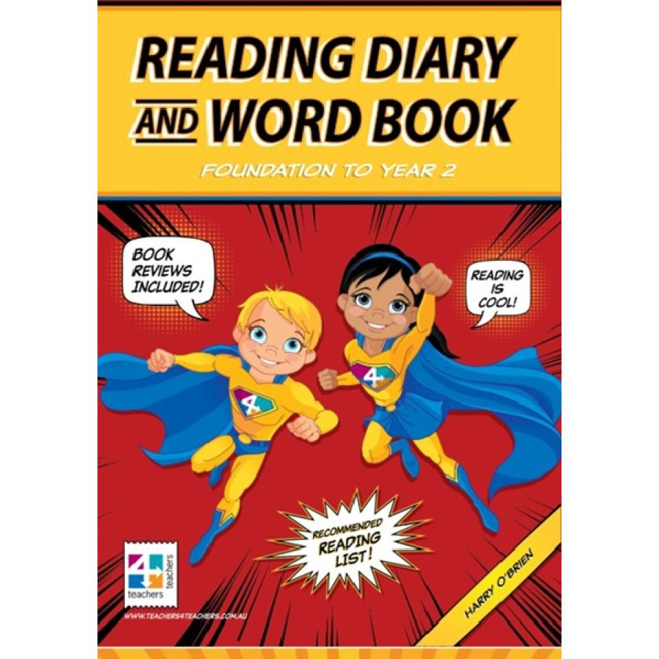 Reading Diary And Word Book Foundation To Year 2