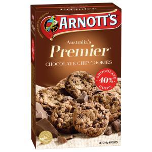 Arnotts Premier Chocolate Chip Cookie 310g