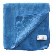 Oates Mf-034B Duraclean Microfibre Cloth Extra Thick All Purpose Blue Carton 60