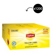 Lipton Yellow Label Quality Black Enveloped Tea Bags Carton 1200