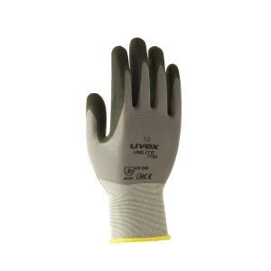 Uvex Ul7700 Unilite Gloves Nitrile Palm Grey Size 9 Pair