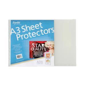 Bantex A3 Landscape Sheet Protectors Pack 25