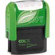 Colop Green Line 'Copy' Self-Inking Stamp With Red Ink