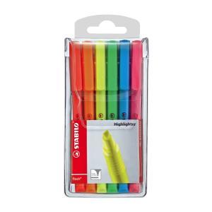 Stabilo Flash Highlighter Assorted Coloursset 6