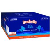 Bushells Black Enveloped Tea Bags Carton 1200