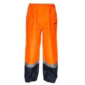AAPB HV202 Hi Vis Waterproof Pull on Pants With 3M Reflective Tape