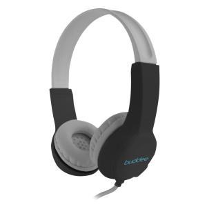 Buddee BD903032-BK Premium Volume Limited Headphones Black/silver