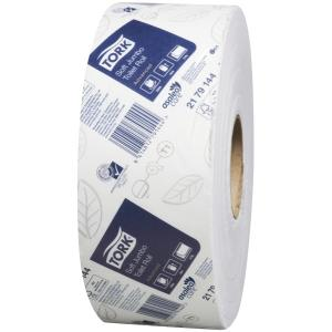 Tork 2179144 Soft Jumbo Toilet Roll 2Ply White 320m Carton 6