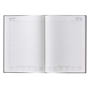 Winc 2020 Hardcover Diary A4 Day to Page Navy