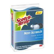 Scotch-Brite Scrub Sponge Non Scratch  2Pk