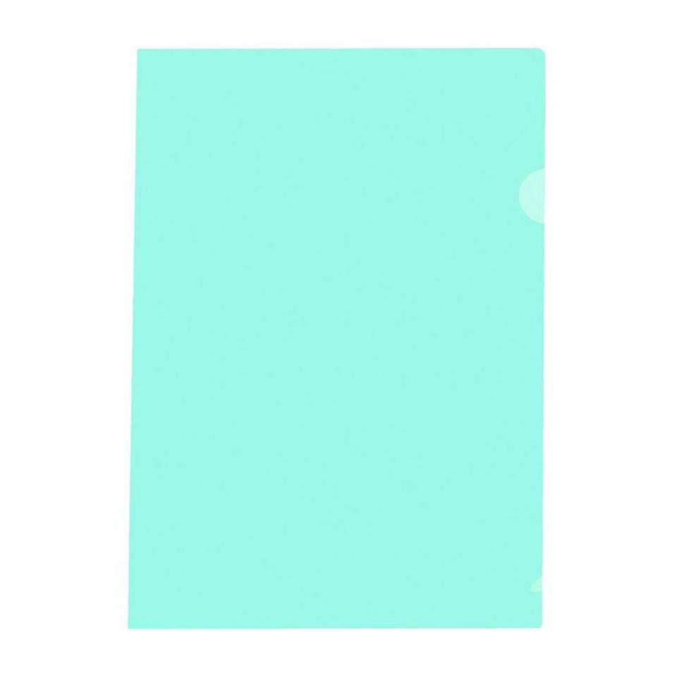 Marbig Letter File A4 Ultra PP Green Pack 100