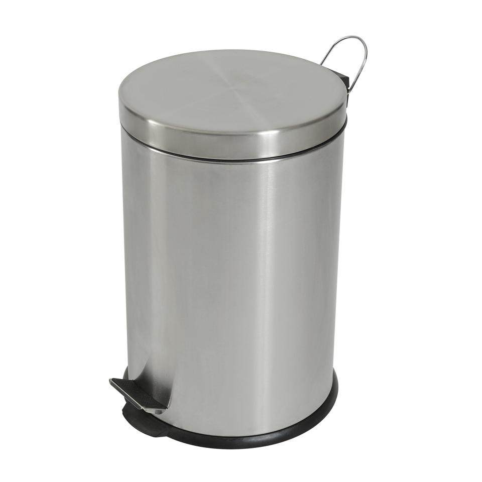 Compass 20l Stainless Steel Pedal Bin
