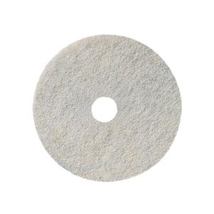 3M 3300 Natural Blend Burnishing Pads White 53cm Each