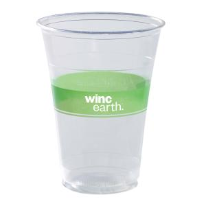 Winc Earth Plastic Cold Cup 425ml Clear Carton 1000