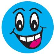 Avery Merit and Reward Stickers Smiley Faces 43 mm diameter Pack 102