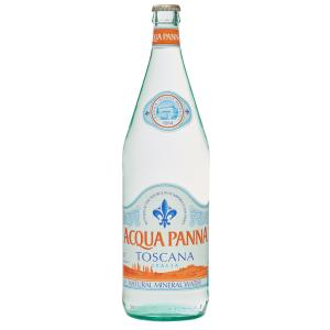Acqua Panna Still Mineral Water Glass Bottle 1 Litre Carton 12