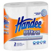 Handee Ultra 2264193 Kitchen Towel 2 Ply 60 sheet White Twin Pack