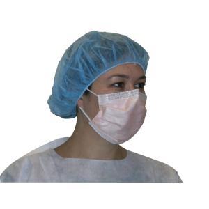 Free Mask Fluidshield Orange Level Face Ear Fog Loops Procedure 40 Box 3 Halyard