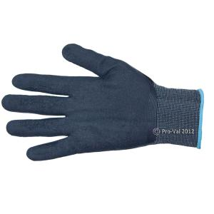 Proval Taipan Glove Black Nylon With Latex Palm Size L