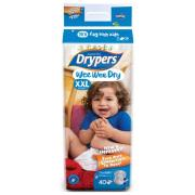 Drypers Nappies Junior 2XL Pack of 32 Carton of 4