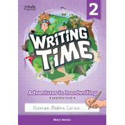 Writing Time 2 (Victorian Modern Cursive) Student Practice Book