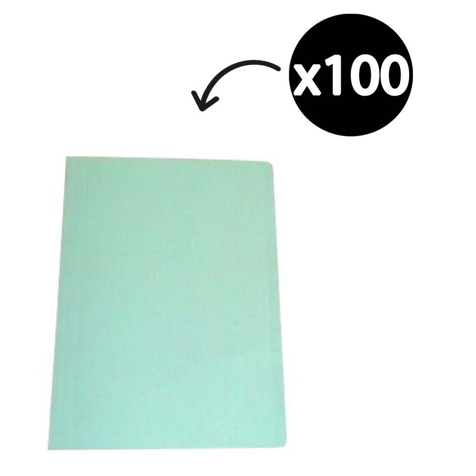 Officemax Manilla Folder Foolscap Light Blue Box 100