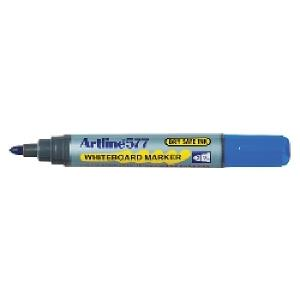 Artline 577 Whiteboard Marker Bullet Tip 3.0mm Blue