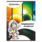 Officemax Megaspace Scrapbook 335x245mm 100gsm White 64 Page