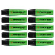 Stabilo Boss Highlighter Green Box 10