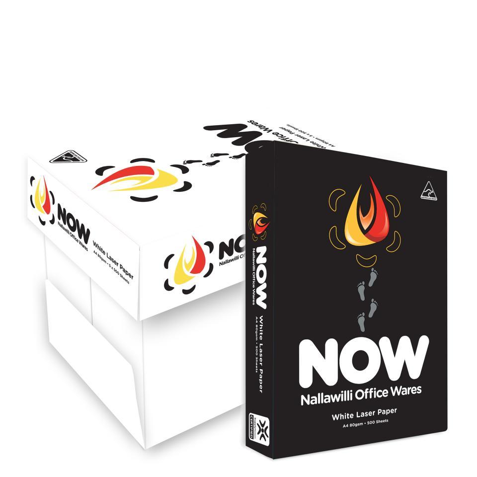Nallawilli Copy Paper 80gsm A4 White Box 5 Reams