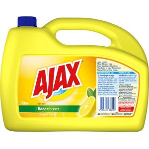 Ajax Floor Cleaner Lemon 5 Litre