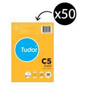 Tudor Envelopes C5 229X165 Kraft Peel-N-Seal Pkt50