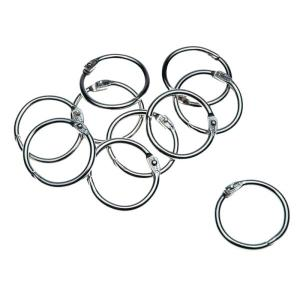 Staples Hinged Key Rings