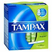 Tampax Super Tampons Pkt20