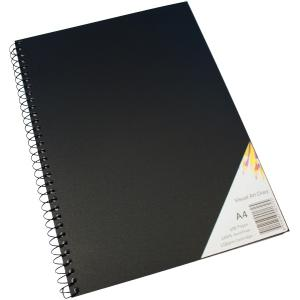 Diary Quill Visual Art Spiral Swva4 A4 120 Page