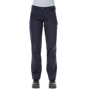 Workit 1007n Ladies Lightweight Cotton Drill Cargo Pants Navy