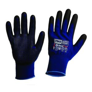 Prochoice BNNLF Gloves Prosense Dexifrost Breathable Nitrile Dip With Dots Winter Liner Pair