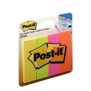 Post-It Page Markers Assorted Colours 22.2 x 73.0mm Pack 4