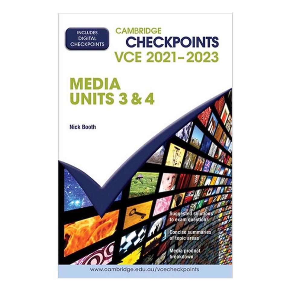 Checkpoints Vce Media Units 3&4 2021-23 Print & Digital