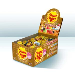 Chupa Chups The Best Of Display Box 50
