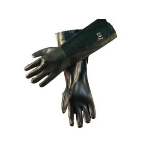 ATS Mft Green Double Dip PVC Glove 45cm Pair