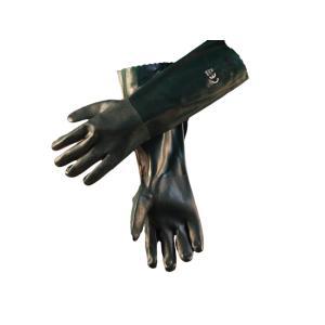 ATS Mft Green Double Dip PVC Glove 45cm Pair