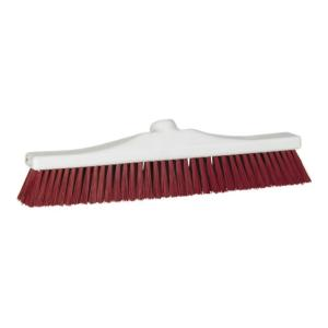 Vikan Ergoclean Broom Medium Bristle 420mm