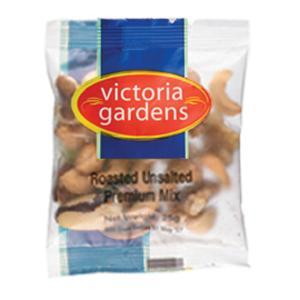 Victoria Gardens Premuim Mixed Nuts Unsalted Portion Control 25g Carton 60