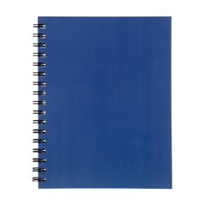 Spirax 512 Notebook A4 Side Opening Hard Cover 200 Page Blue