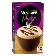 Nescafe Cafe Menu Mocha Coffee Sticks 18g Box 10